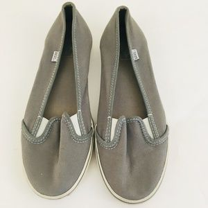 Vans Gray Slip On Casual Shoes